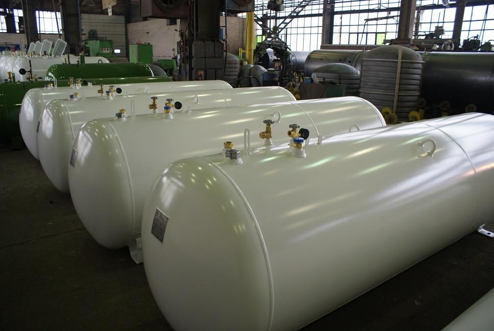 Najnowsze Zbiornik na propan - ModernGAS - budowa instalacji zbiornikowych MN51